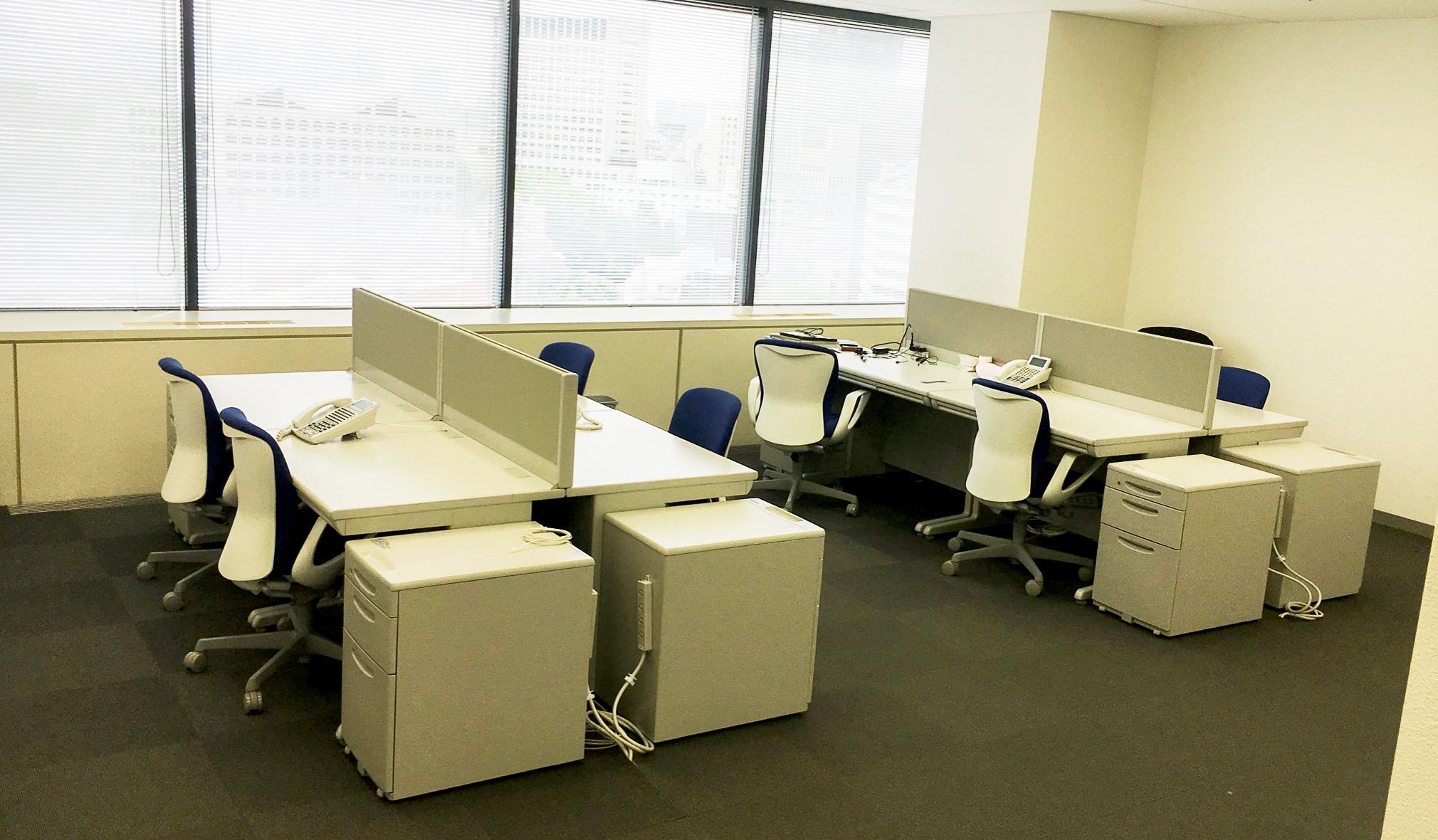 最初の執務室