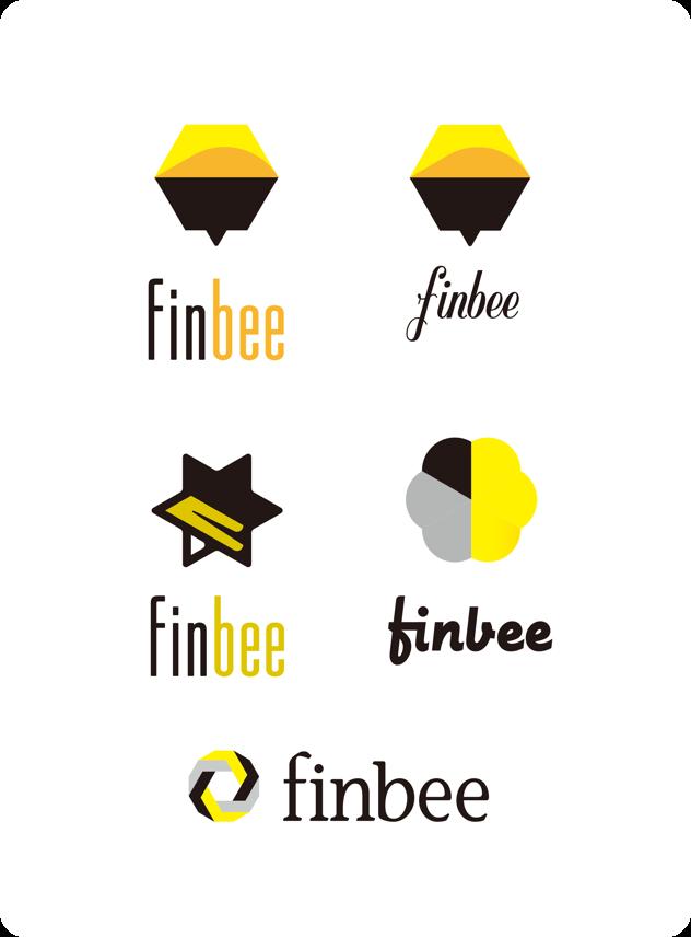 finbeeロゴ案