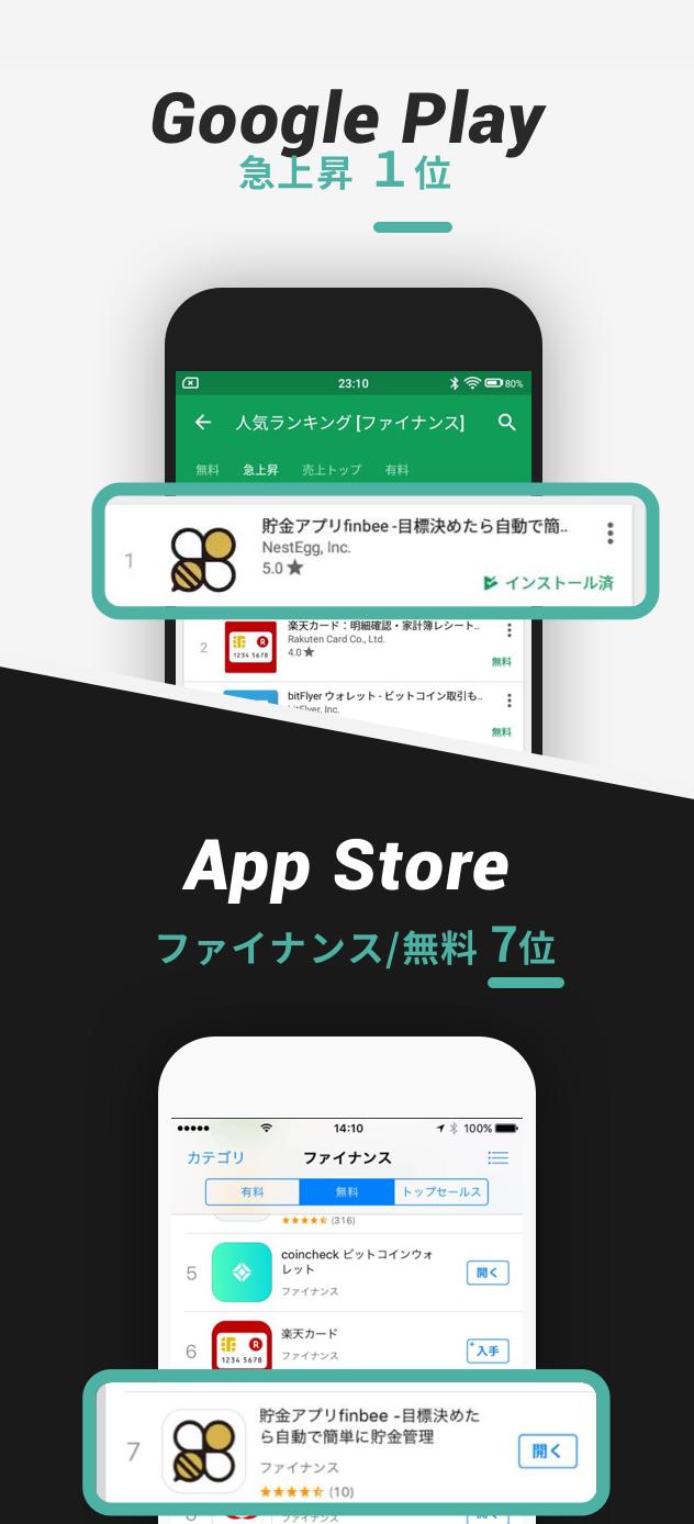 アプリストアランキング